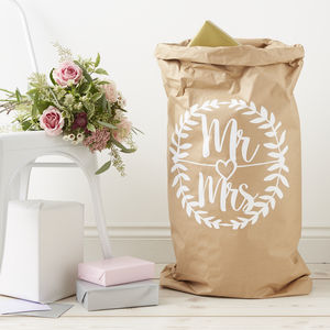 Personalised Wedding Styling Sack