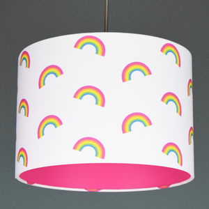 Unicorn Colours Rainbow Lampshade Choice Of Colours - lampshades