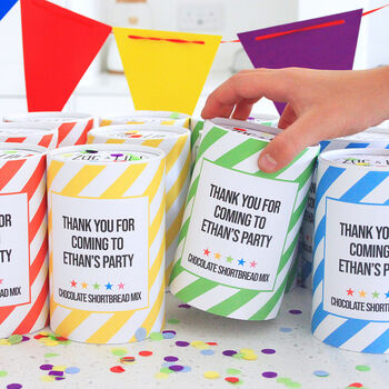 Make Your Own Biscuit Mix Party Favour With Cutter