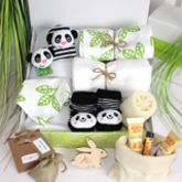 Ultimate Unisex Mum And Baby Pamper Hamper, Panda - health & beauty