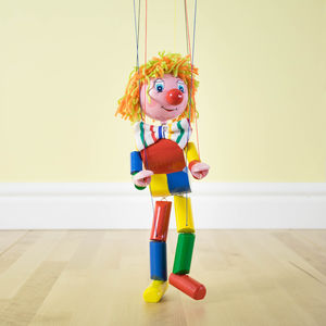 Traditional Puppet On A String - wooden toys