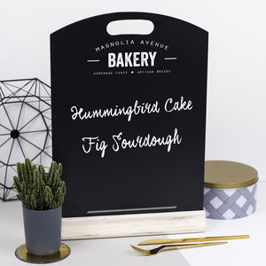 Personalised Kitchen Chalkboard - aspiring chef