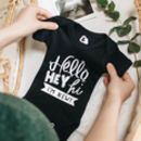 I'm New Birth Announcement Bodysuit