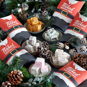 Any Five Festive Marshmallow Flavours - chocolates & confectionery