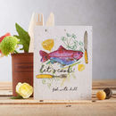 'Let's Cook!' Plantable Dill Seed Greetings Card