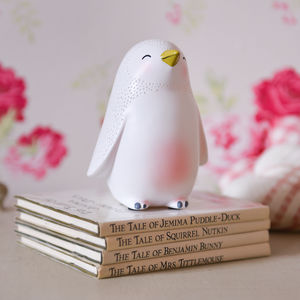 Penguin U S B Night Light - bedside lamps