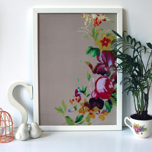 Natural Floral Painterly Print, A3 A2 And A1 Sizes - nature & landscape