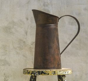 Antique Brass Jug - jugs & bottles