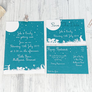 Countryside Wedding Invitation