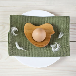 Bird Egg Cup Tea Light Holder