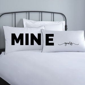 Your Side My Side Pillowcases - bed, bath & table linen