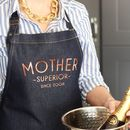 Mother Superior Denim Apron