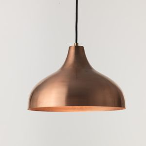 Vienna 30 Medium Pendant Lamp, Copper - lighting