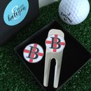 Personalised Initial St George Golf Tool And Marker