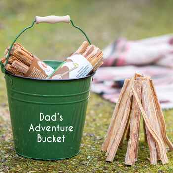 Personalised Adventure Bucket With Firesticks