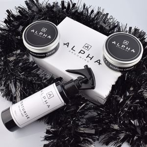 Mens's Creme Hair Styling And Sea Salt Gift Box