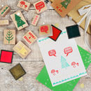 christmas stamps for making cards