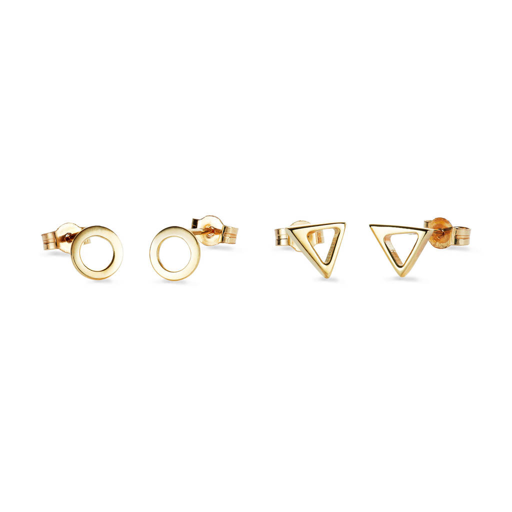 geometric jewelry earrings diamond