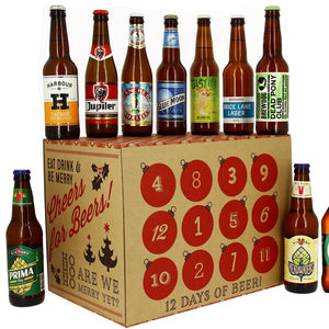 Twelve Days Of Beermas Advent Calendar - advent calendars