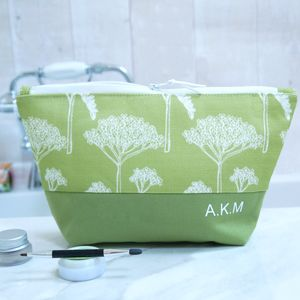 Personalised Wild Meadow Make Up Bag Or Wash Bag - shop by recipient