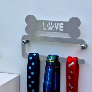 'Love' Dog Lead Hanger