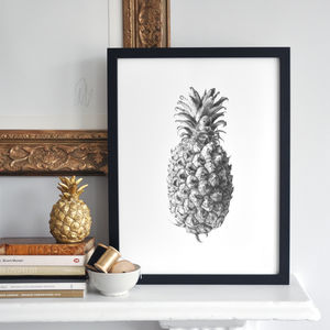 Pineapple Print - less ordinary wall art
