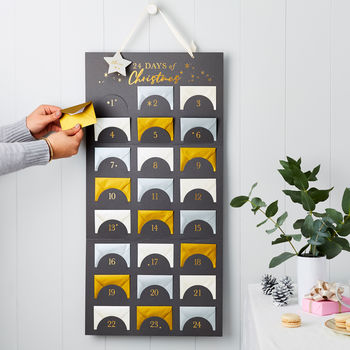 Personalised Chart Of Advent Surprises