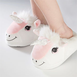Children Super Soft Unicorn Slippers