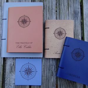 Leather Travel Journal - frequent traveller