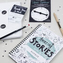 Personalised Story Writing Set