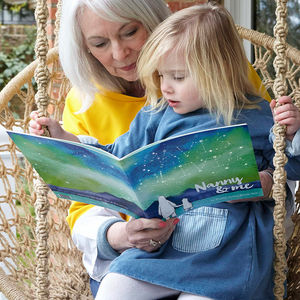 Personalised Grandparent And Me Book - personalised gifts