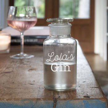 Glass Gin Decanter