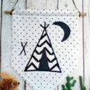 Monochrome Teepee Wall Hanging