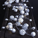 LED Christmas Bauble Garland