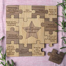 Twelve Family Christmas Traditions Puzzle