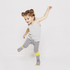 Sunshine Stripe Baby And Toddler Tights