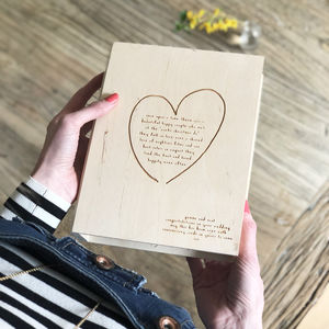 Anniversary Card And Keepsake Box - gifts with meaning