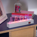 Light Up Letters And Stand