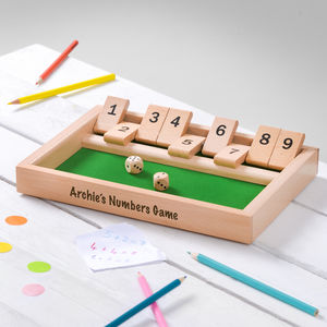 Personalised Number Bonds Game - board games & puzzles