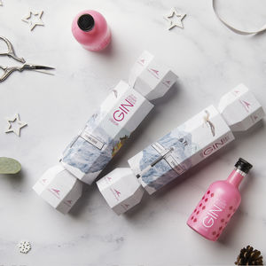 Christmas crackers notonthehighstreet the lakes rhubarb and rosehip gin christmas cracker secret santa gifts solutioingenieria Image collections