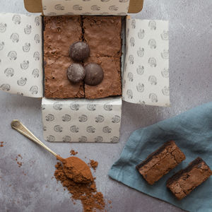 Gluten Free Belgian Chocolate Brownies - cakes & sweet treats