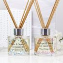 Personalised Engagement Reed Diffuser Gift Set