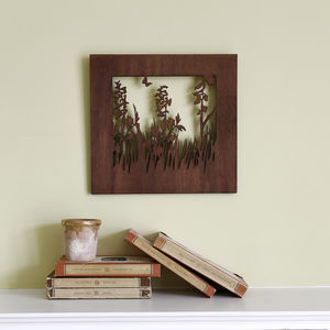 Small And Medium Meadow Wood Wall Art