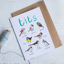 Tits Card and envelope