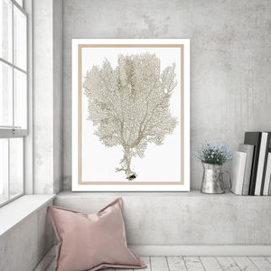 Deep Sea Coral, Canvas Art