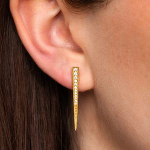 Sparkling Spike Earrings - jewellery