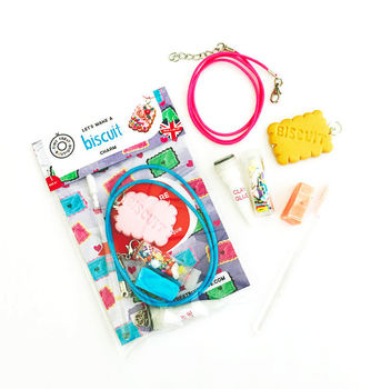 Biscuit Themed Jewellery Making Mini Craft Kit
