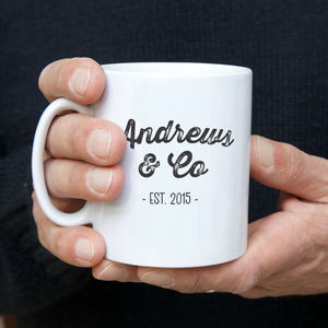 Father And Child Surname Mug