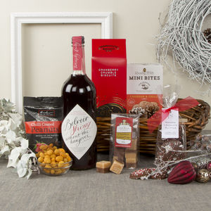 Alcohol Free Christmas Tray Hamper - dietary hampers