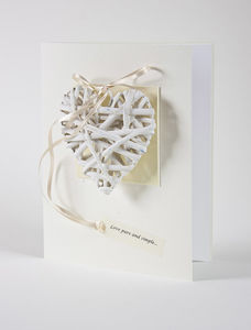 Love Pure And Simple Handmade Card